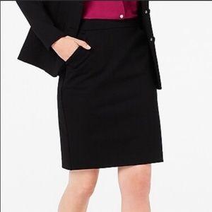 NWT J. Crew Factory Black Pencil Skirt